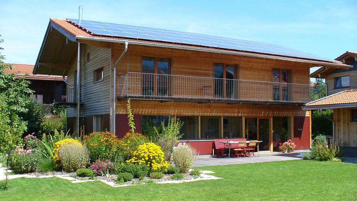Chiemgauer Holzhaus holzhaus in bergen lebensraum holz