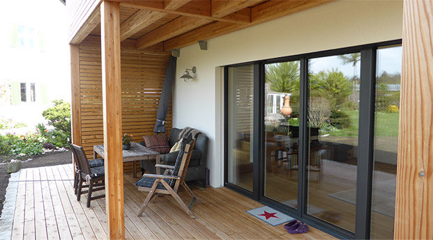 Passivhaus in Bad Aibling - Lebensraum Holz : Moderne Holzhäuser